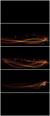 获奖粒子光线视频素材背景