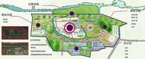 景观区位分析图PSD