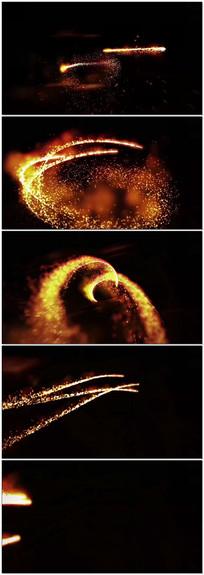 粒子穿梭LED背景视频
