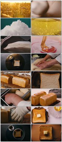 面包加工制作工艺视频宣传片 mp4