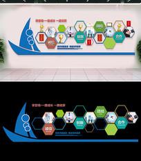 企业荣誉墙展厅设计公司文化墙