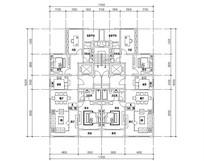 三室两厅两卫实用户型图