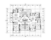 三室两厅两卫最实用户型图 JPG