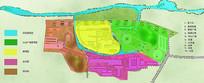 小丘陵工厂功能分区分析图