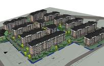 住宅楼景观规划