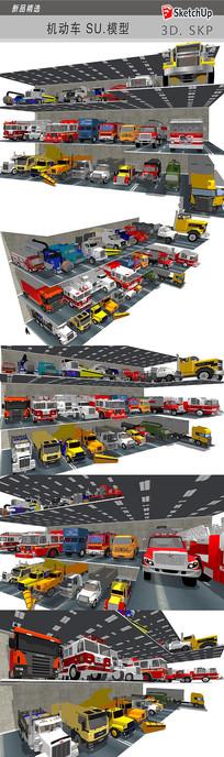 工具汽车模型