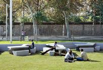 公园休闲桌椅组合 JPG