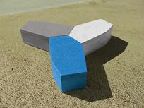模块组合景观坐凳