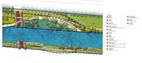 曲线景观公园平面图
