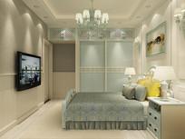 现代简约风格室内设计衣柜设计