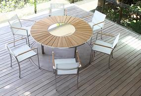 现代简约圆桌家具
