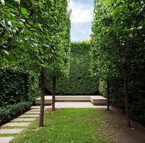 休闲小庭院景观