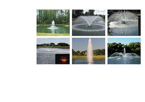 喷泉水景意向图