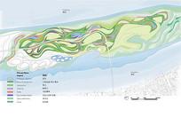 湿地公园植物配置平面图