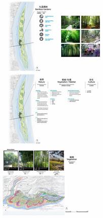竹林公园景观分析