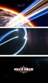 科技宣传片片头AE模板