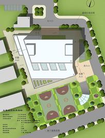 医院景观设计平面