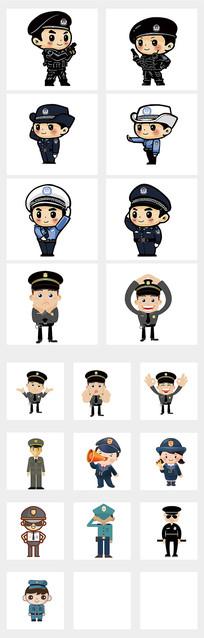 人民警察元素