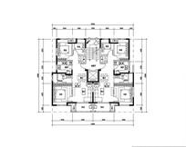 三室两厅一卫住宅设计