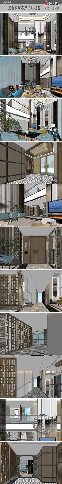 复式别墅室内装饰设计