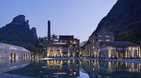 桂林某酒店建筑意向图