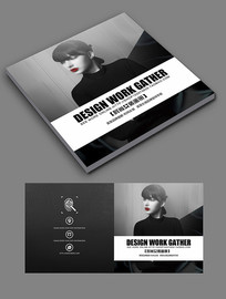 时尚大气女装画册封面设计