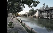 复古河道景观设计