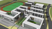 校园规划模型