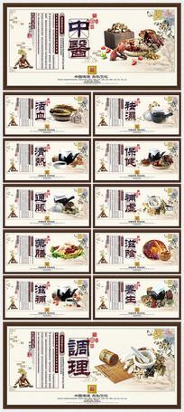 传统中医文化宣传展板