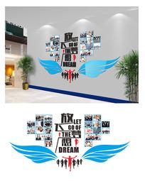 精品班级企业照片墙