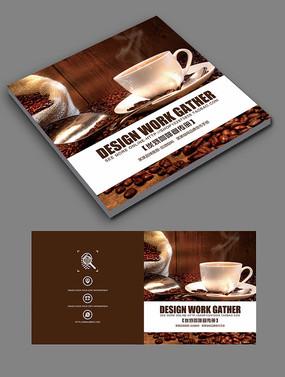 咖啡画册封面设计