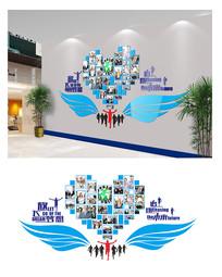 时尚企业学校照片墙