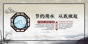 中国风宣传海报 PSD
