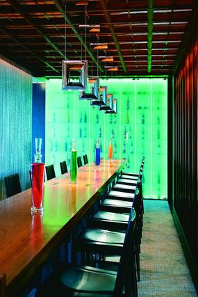 酒厅灯具意向图