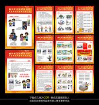 法制安全教育宣传展板设计