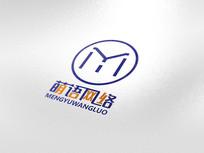 萌语网络logo