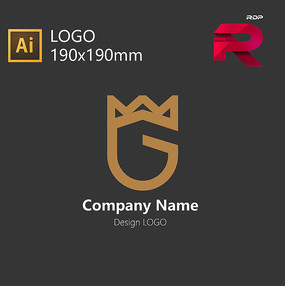 皇冠盾牌LOGO AI