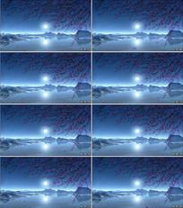 月圆之夜舞台背景