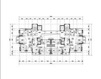 100平米三室两厅户型设计 JPG