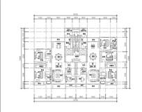 240平米多居室豪华平面图