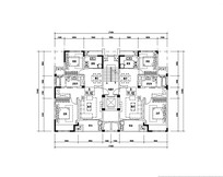 4款精美三室两厅户型图 JPG