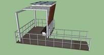 钢构架休闲长廊
