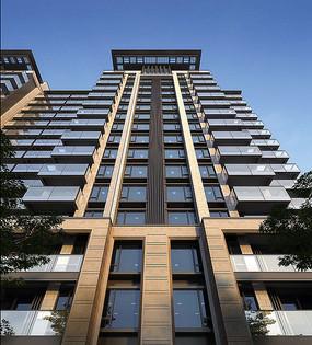 高层住宅建筑立面