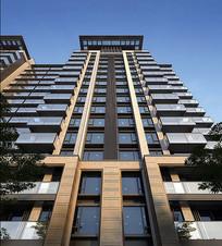 高层住宅建筑立面 JPG