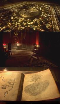 历史图书馆神秘AE模板