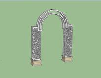 欧式铁艺拱门
