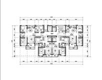 天津家庭实用住宅平面图 JPG