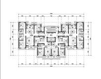 现代住宅户型图设计
