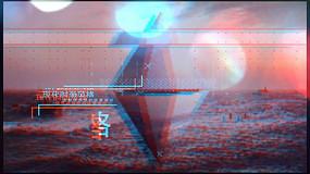 AE毛刺故障效果图文宣传模板