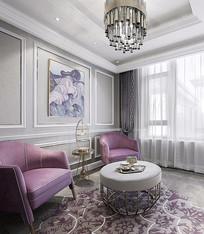 简单设计客厅意向 JPG